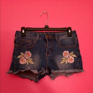 Pants - Machine Nouvelle Mode Denim shorts